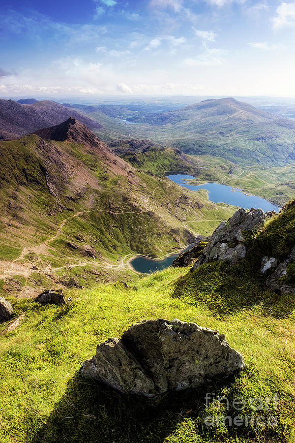 Snowdon Pyg and Miners Track by Ian Mitchell