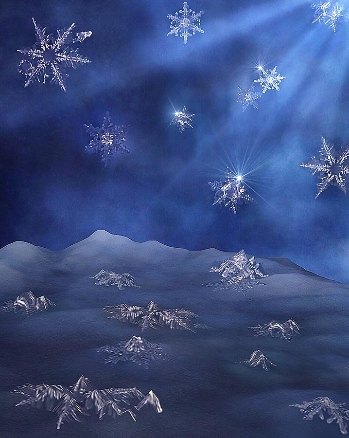 Snowflake Graveyard by Mark Fuller