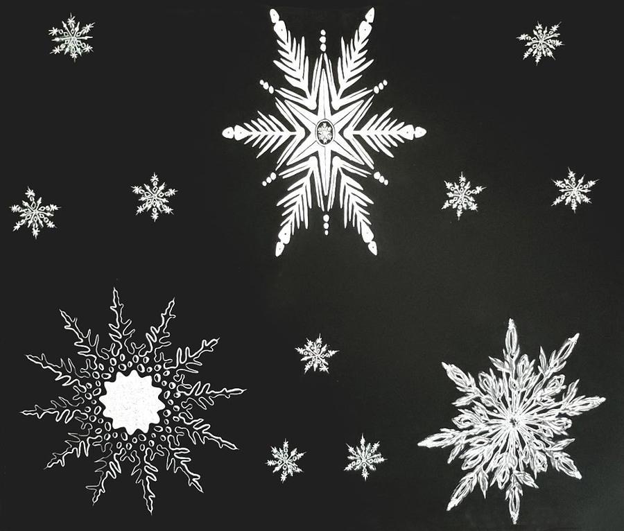 SNOWFLAKES II by Kingsley Krafts