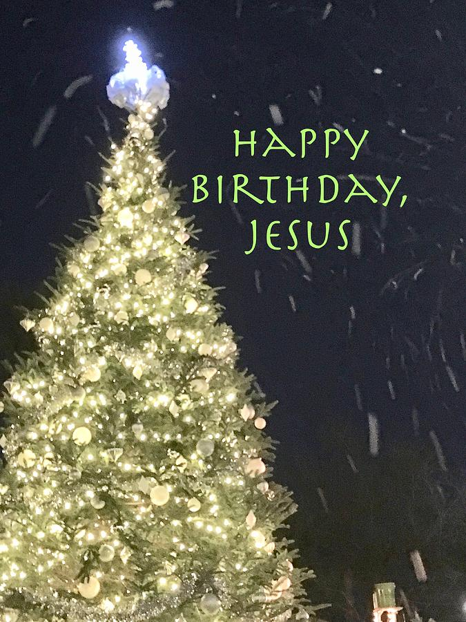 Snowy Christmas Jesus Birthday by Debra Grace Addison