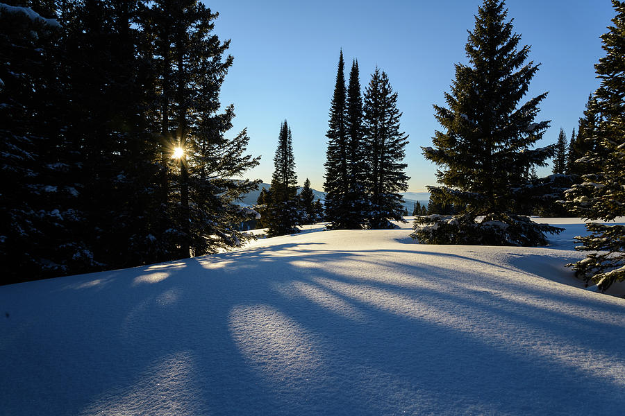 Snowy Mountain Scenic Landscape Photograph by Adventure photo