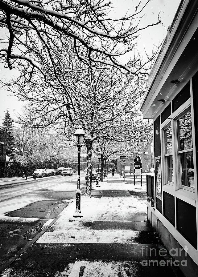 Snowy Northampton, Ma, Part 1 Photograph by JMerrickMedia