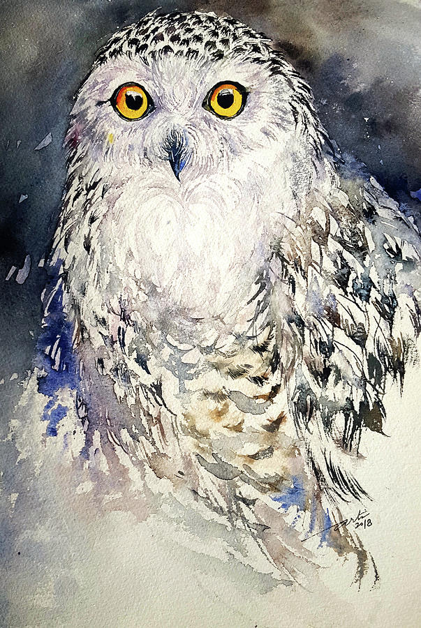 Snowy Owl  by Arti Chauhan