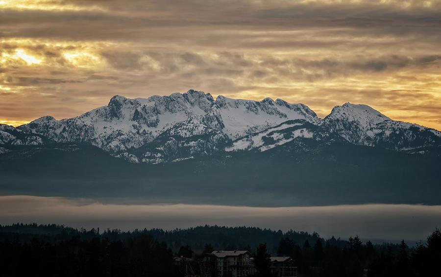 Snowy Peaks Photograph