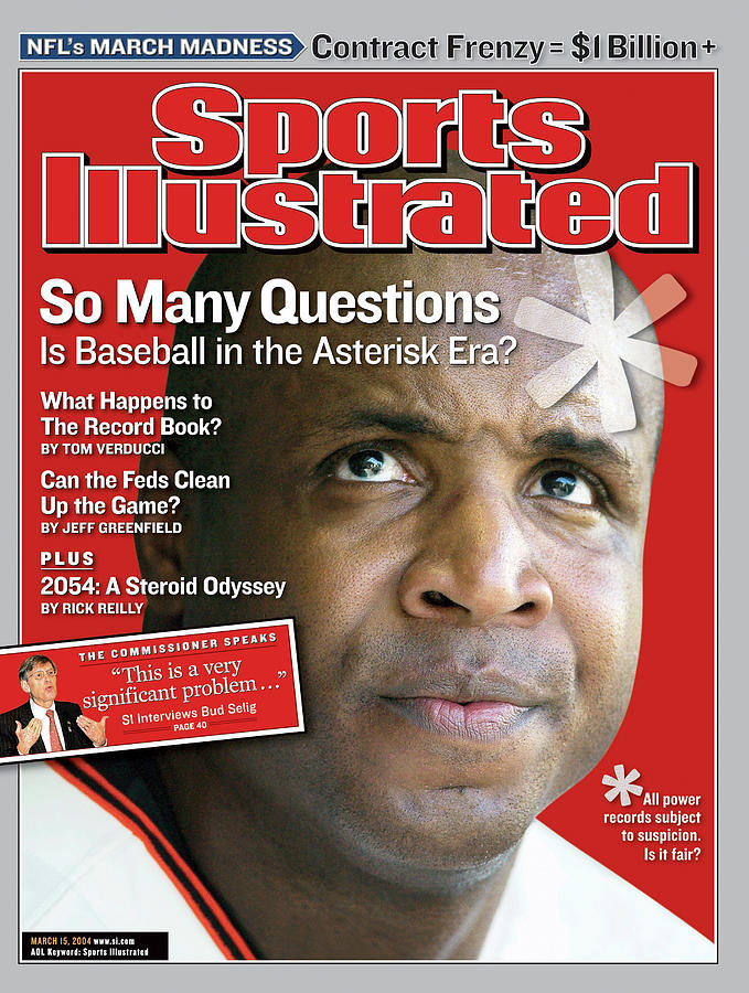 So Many Questions Is Baseball In The Asterisk Era What Sports Illustrated Cover Photograph by Sports Illustrated