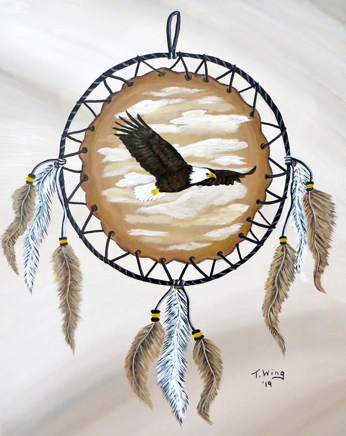 Soaring Eagle by Teresa Wing