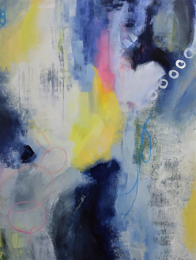 Abstract Painting - Soaring by Vivian Mora