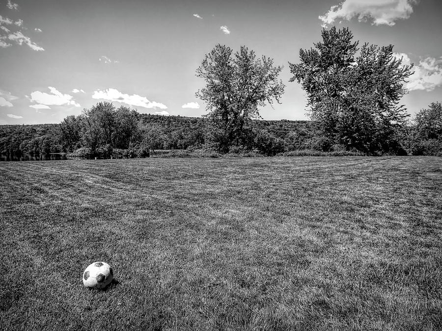 Soccer at Hart's Landing by Robert Stanhope