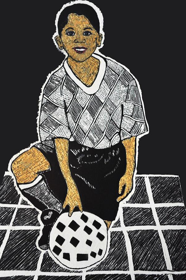 Soccer Boy by Kingsley Krafts