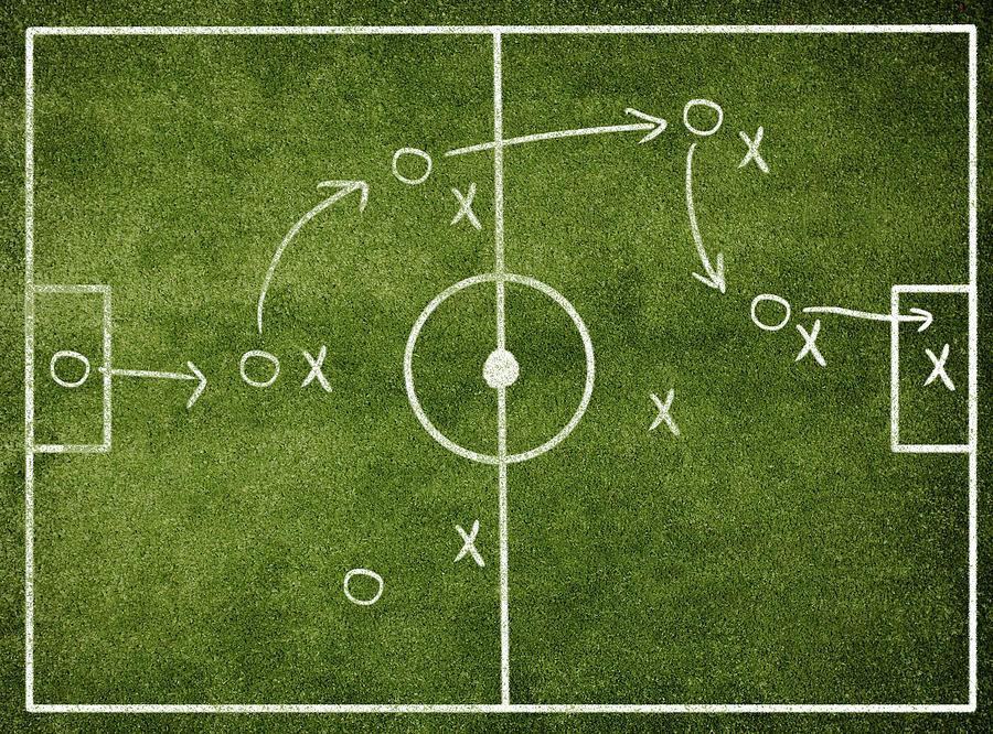 Soccer Strategy Photograph by Goldmund