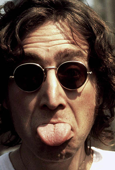 Social Commentary John Lennon by Iconic Images Art Gallery David Pucciarelli