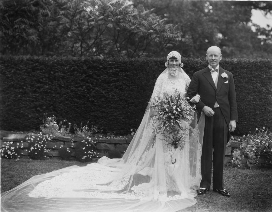 Society Wedding Photograph by Sasha