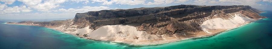 Socotra Island Aerial Photo, Dunes Photograph by P. Medicus