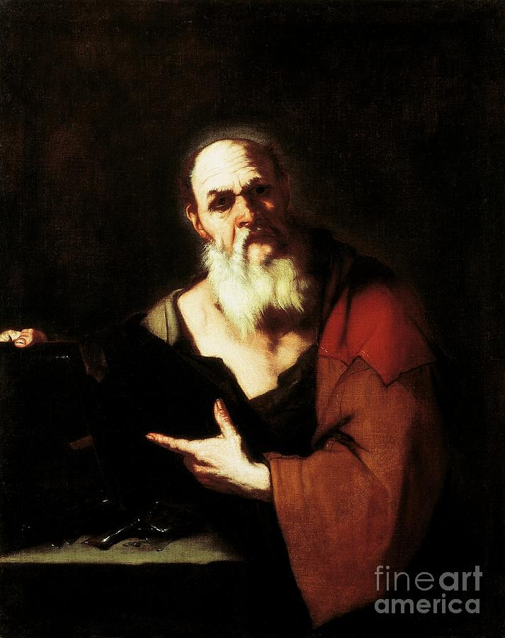 Socrates Painting - Socrates By Luca Giordano by Luca Giordano