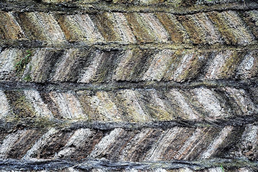 Pattern Photograph - Sod House Pattern by Norman Burnham