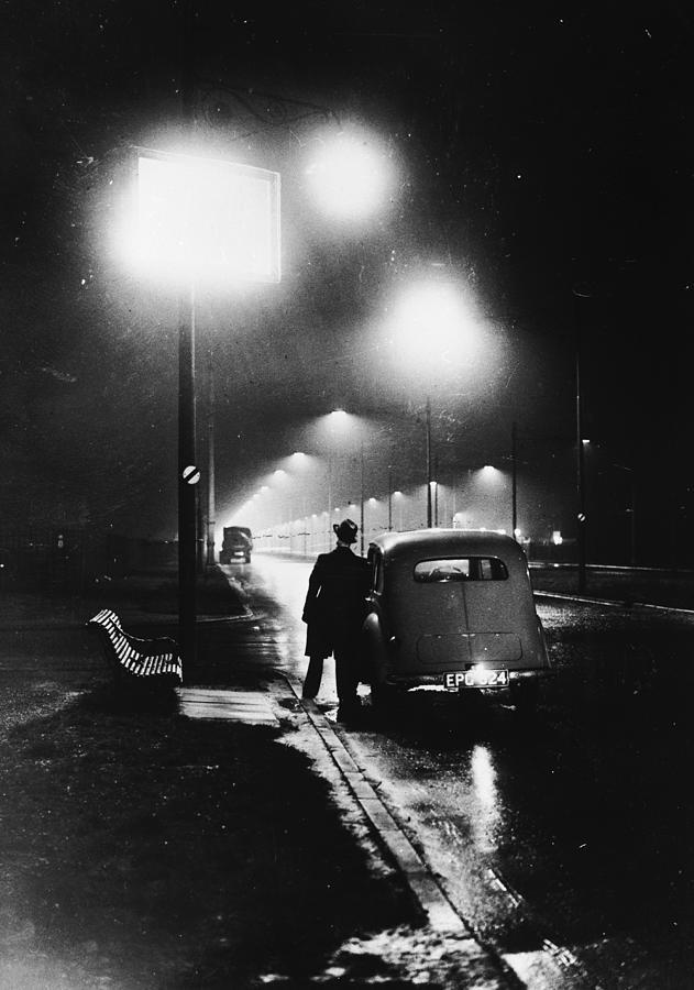 Sodium Street Lights Photograph by Fox Photos