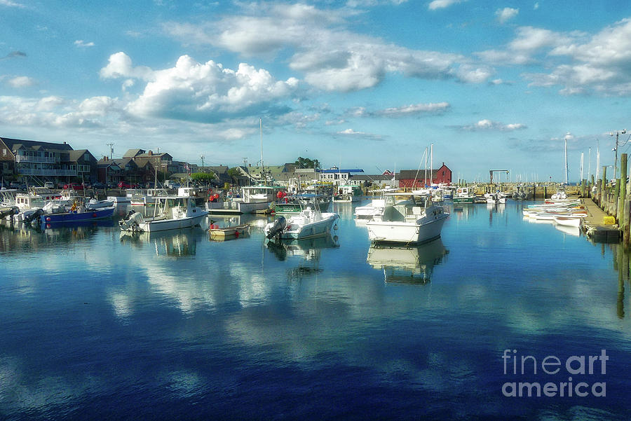 Waterscape Photograph - Soft And Airy Rockport Boats by Amy Dundon