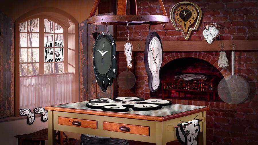 Soft Clock Shop H D by Mike McGlothlen