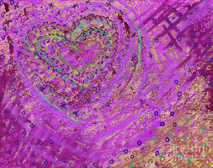 Soft Heart of Pink by Corinne Carroll