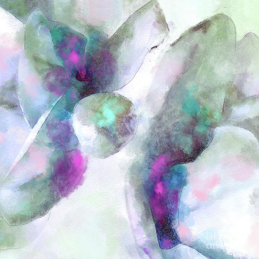 Soft Touch Painterly Non-Objective Art by Tina Lavoie