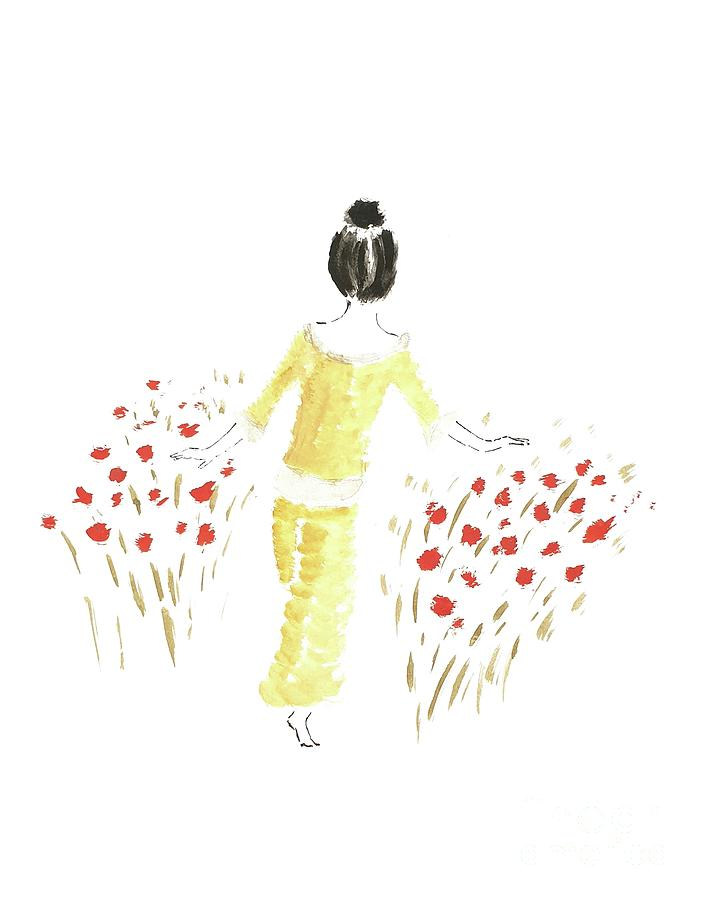 Inspiration Drawing - Softness by Petra Heveroch