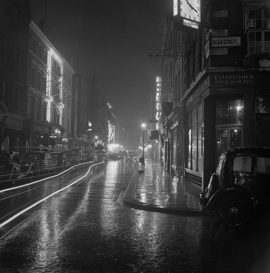 Soho By Night Photograph by Bips