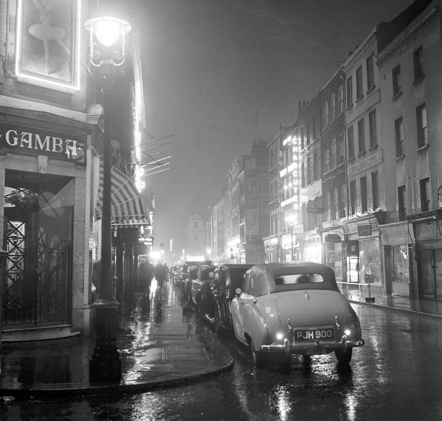 Soho Night Photograph by Peter Purdy