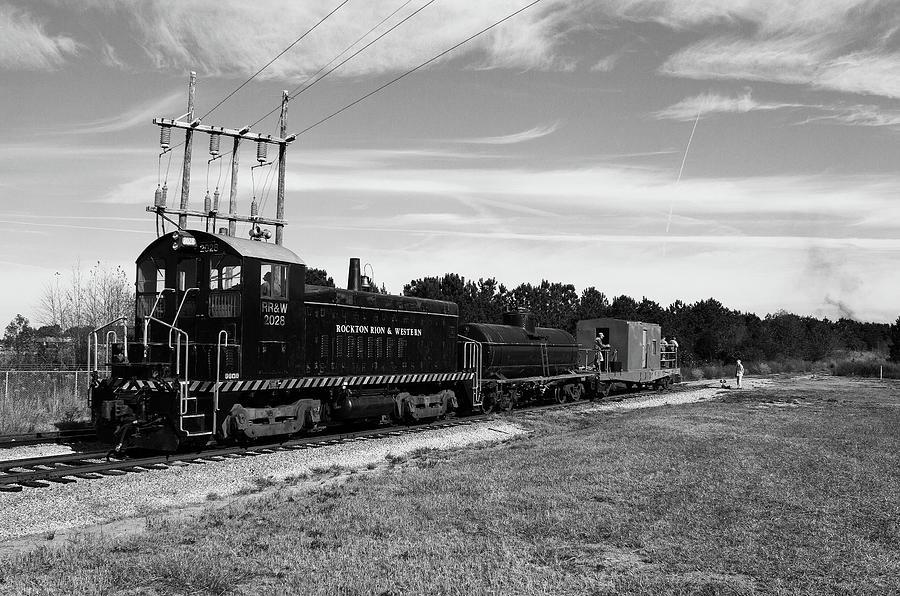 Soith Carolina Railroad Museum 2028 B W by Joseph C Hinson