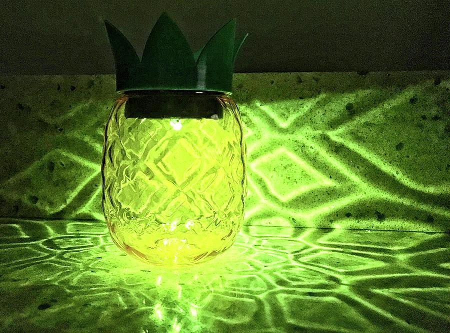 Solar Pineapple by Nora Martinez