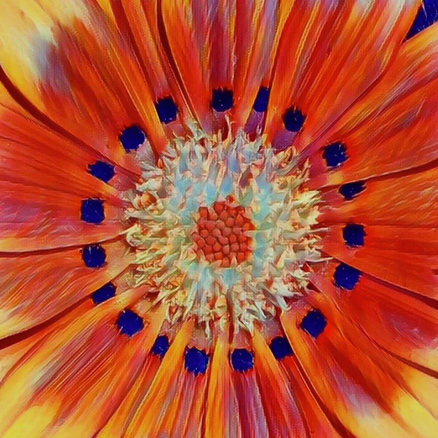 Solar Plexus Bloom by Cindy Greenstein