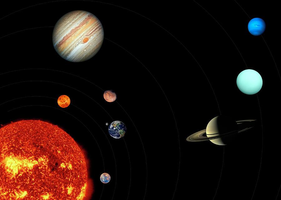 Solar system  by Karen Foley