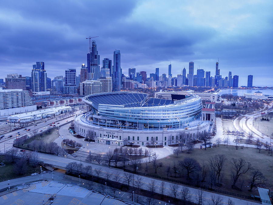 Soldier Field Chicago, IL by Bobby King