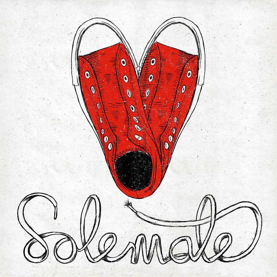 Sole Painting - Sole Mate by Sd Graphics Studio