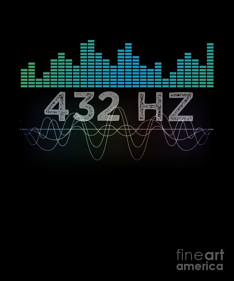 Solfeggio 432 Hz Sound Frequency Spiritual Healing Meditation Musical Note  Gift by Thomas Larch