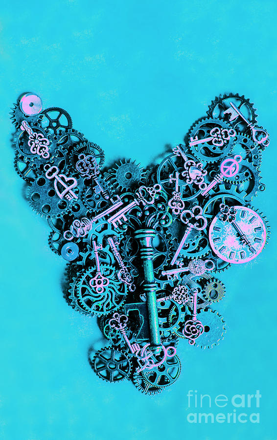 Steampunk Photograph - Solid State by Jorgo Photography - Wall Art Gallery