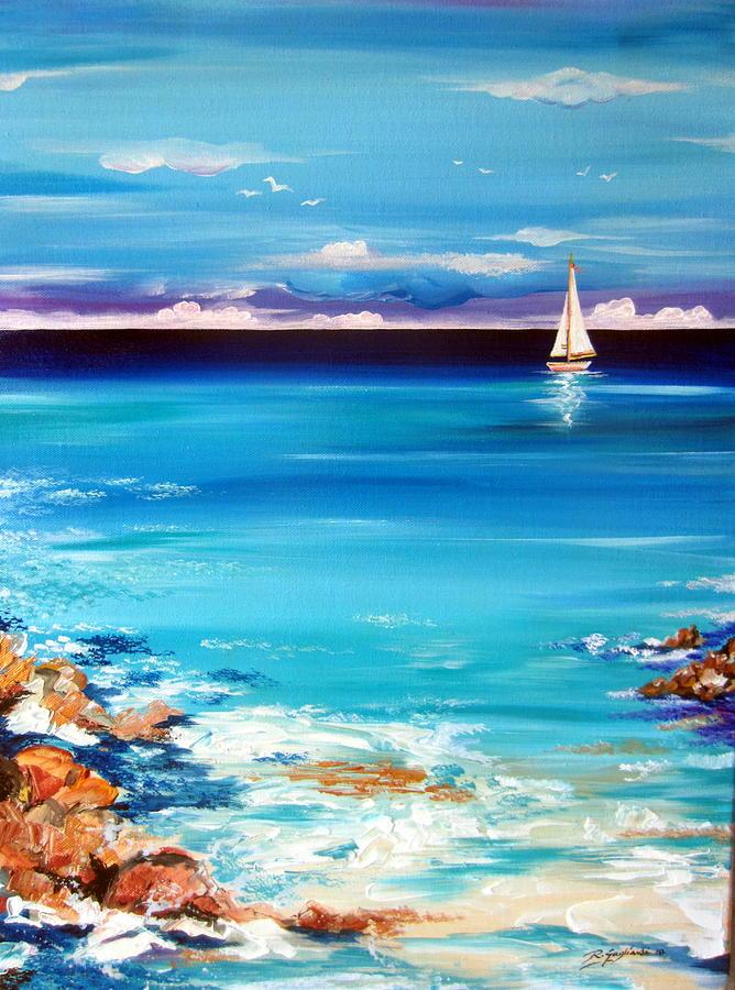 Solitary Boat  by Roberto Gagliardi