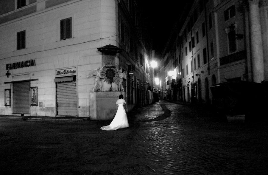 Solitary Bride Photograph by I C Rapoport
