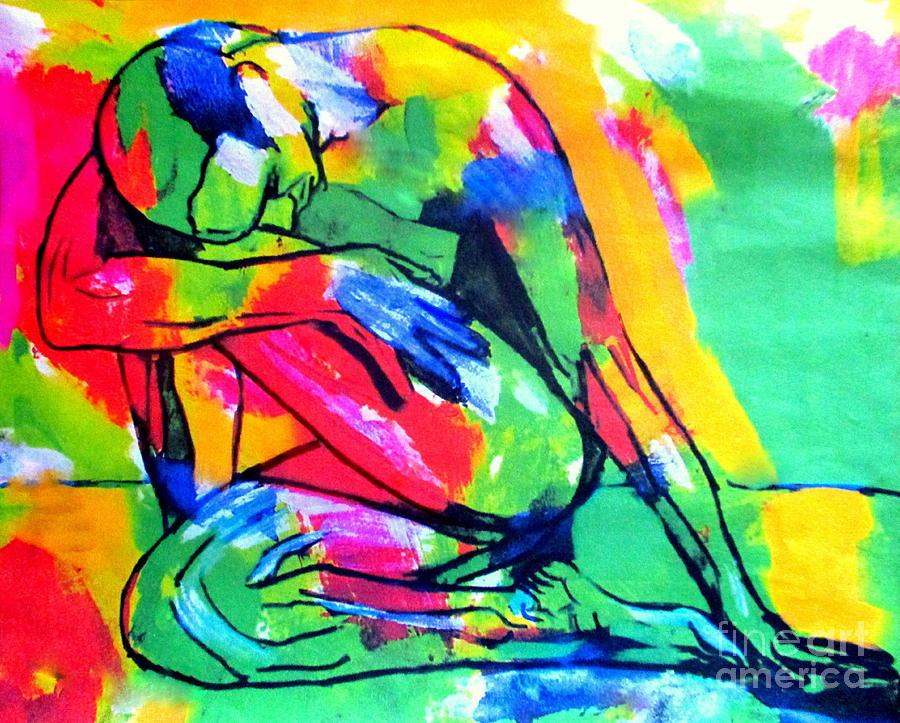 Solitary man by Helena Wierzbicki