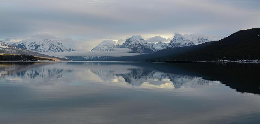Solitude at Lake McDonald by Whispering Peaks Photography