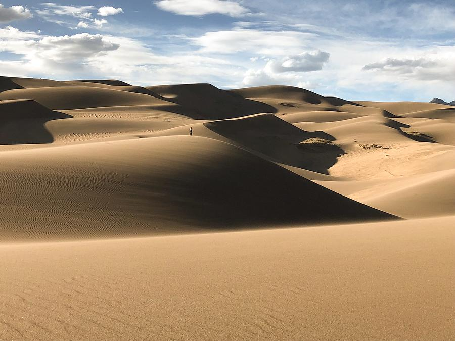 Great Sand Dunes National Park Photograph - Solitude by Kevin Schwalbe