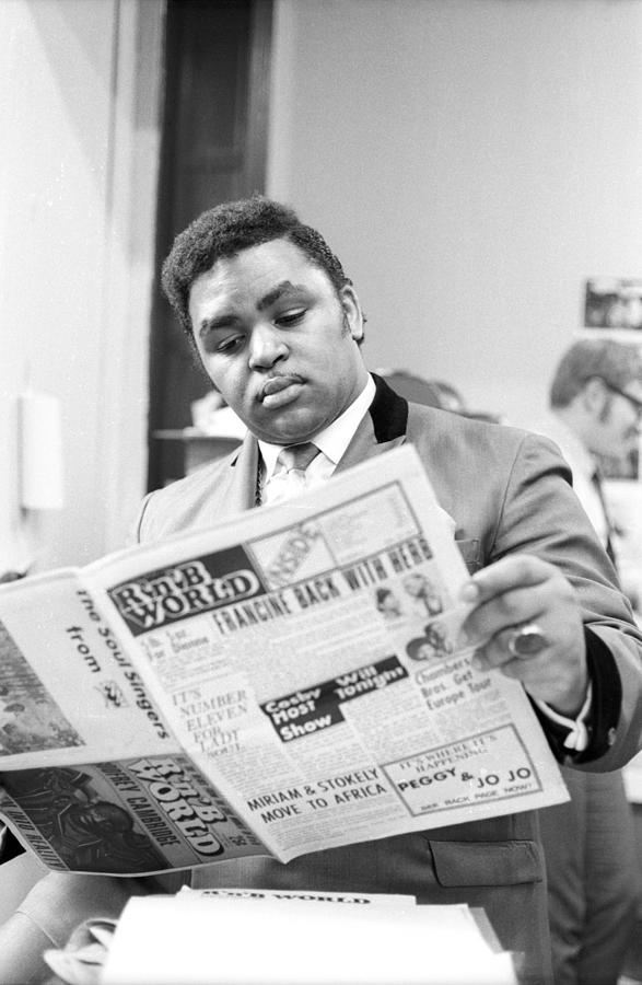 Solomon Burke Photograph by Michael Ochs Archives