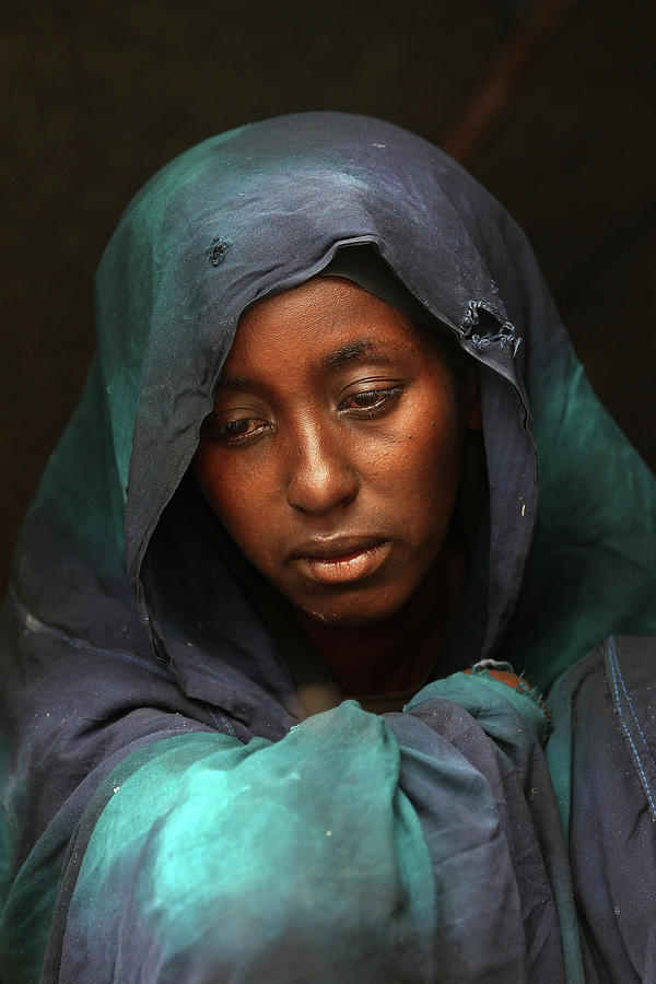 Somali Famine Refugees Seek Aid In Photograph by John Moore