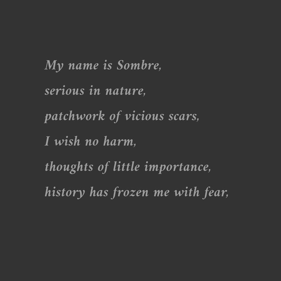 Sombre by Samuel Pye