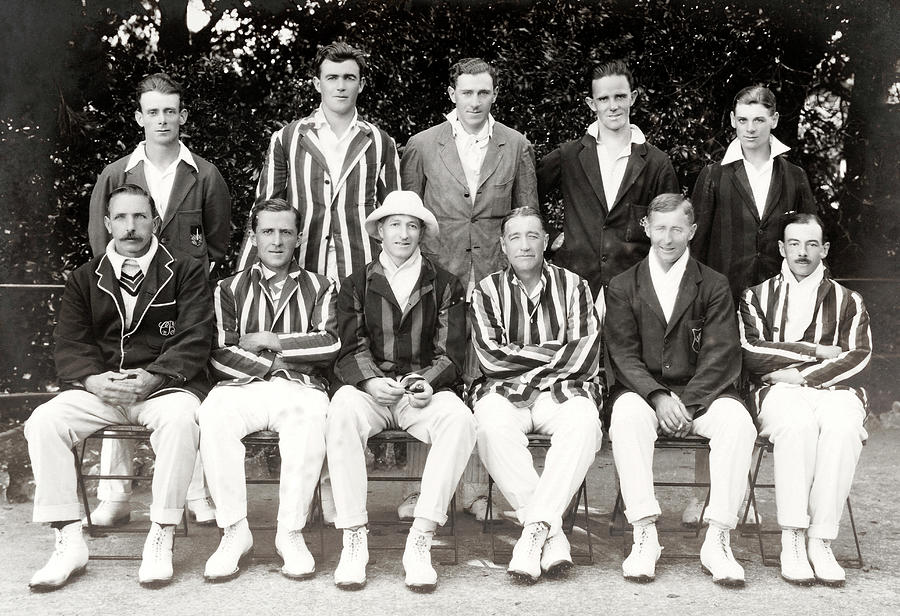 Somerset Cricket Team Photograph by Popperfoto