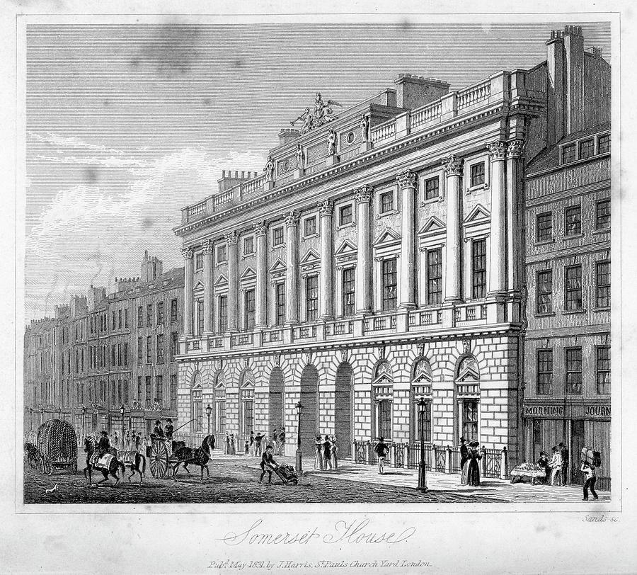 Somerset House Digital Art by Duncan1890