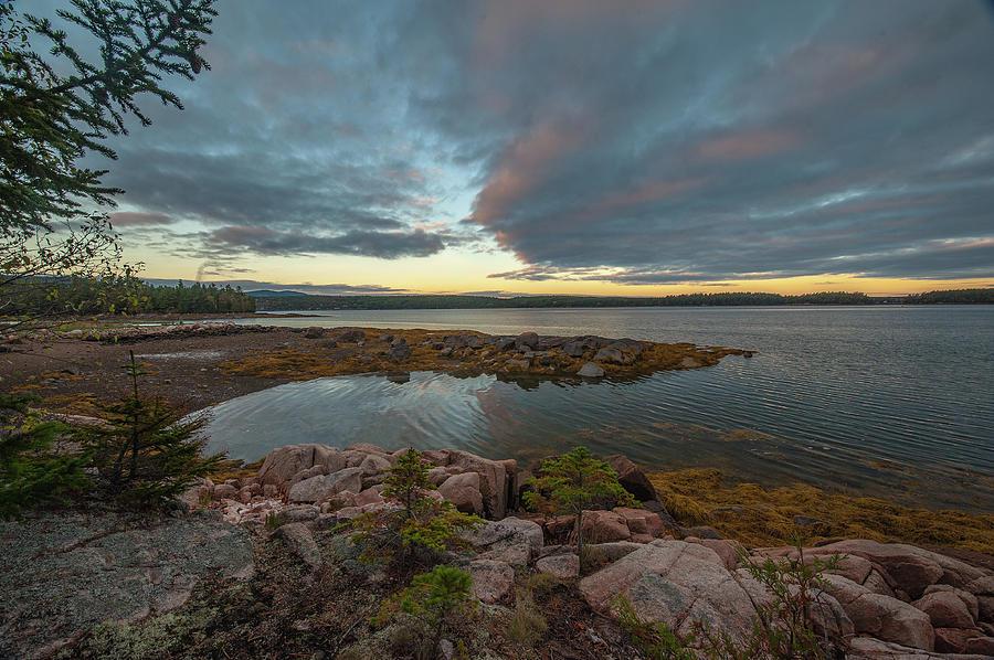Somes Sound Sunset by Rick Hartigan