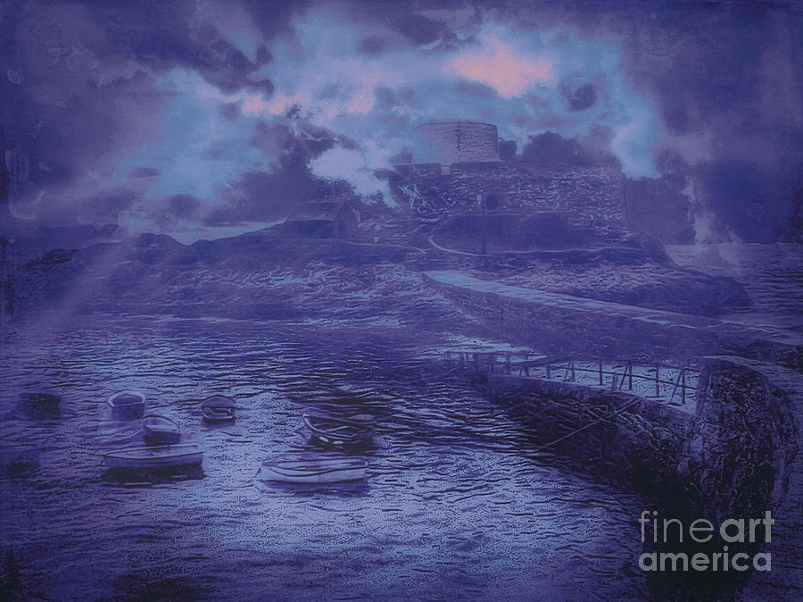 Painterly Photograph - Something Old Something New Something Different Something Blue by Leigh Kemp