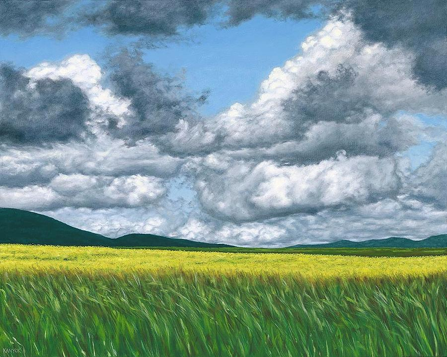 Somewhere In May Painting by Darrel Kanyok