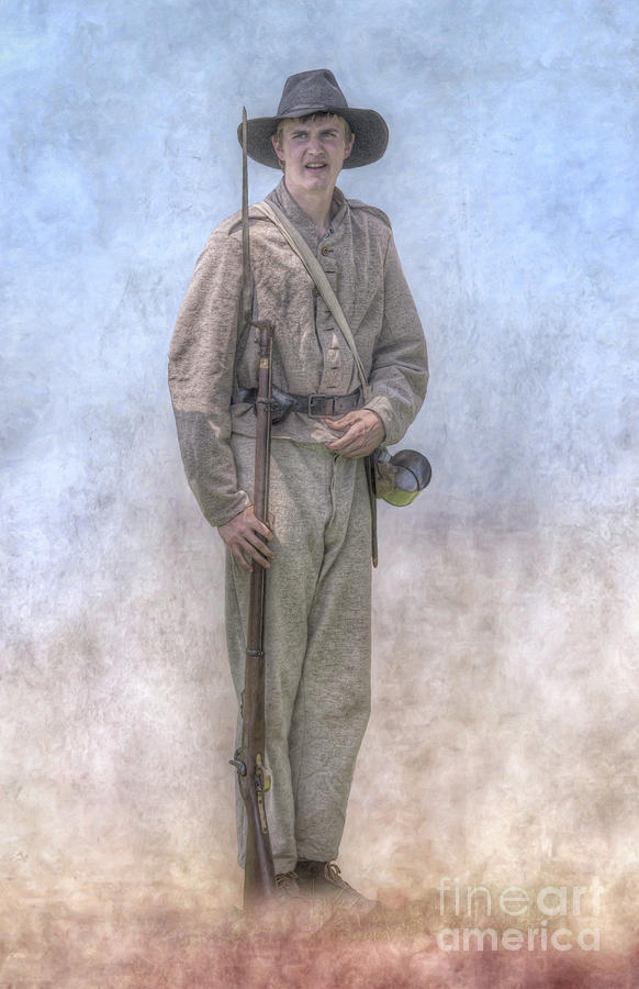 Son of the South Confederate Soldier by Randy Steele