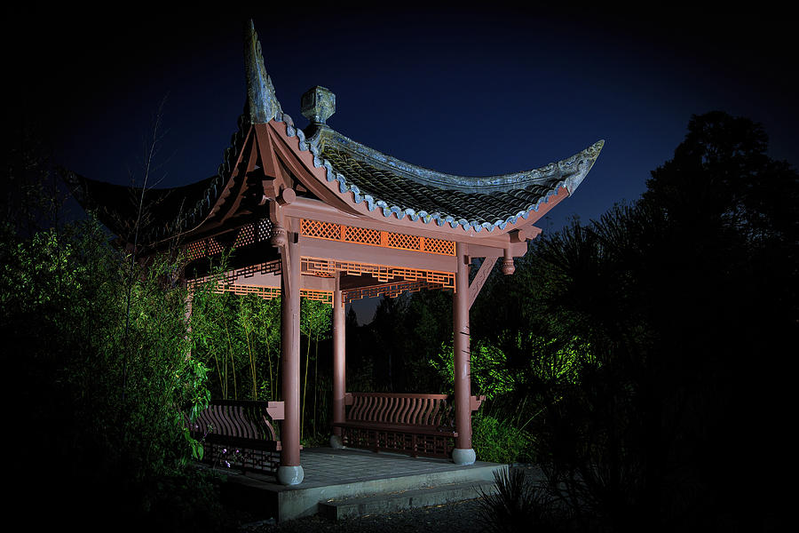 Song Mei Ting at Twilight by Briand Sanderson